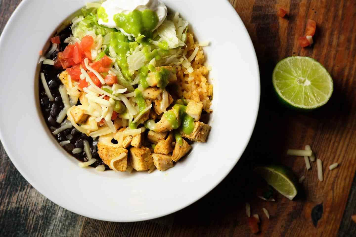 Grilled Chicken Power Bowl
