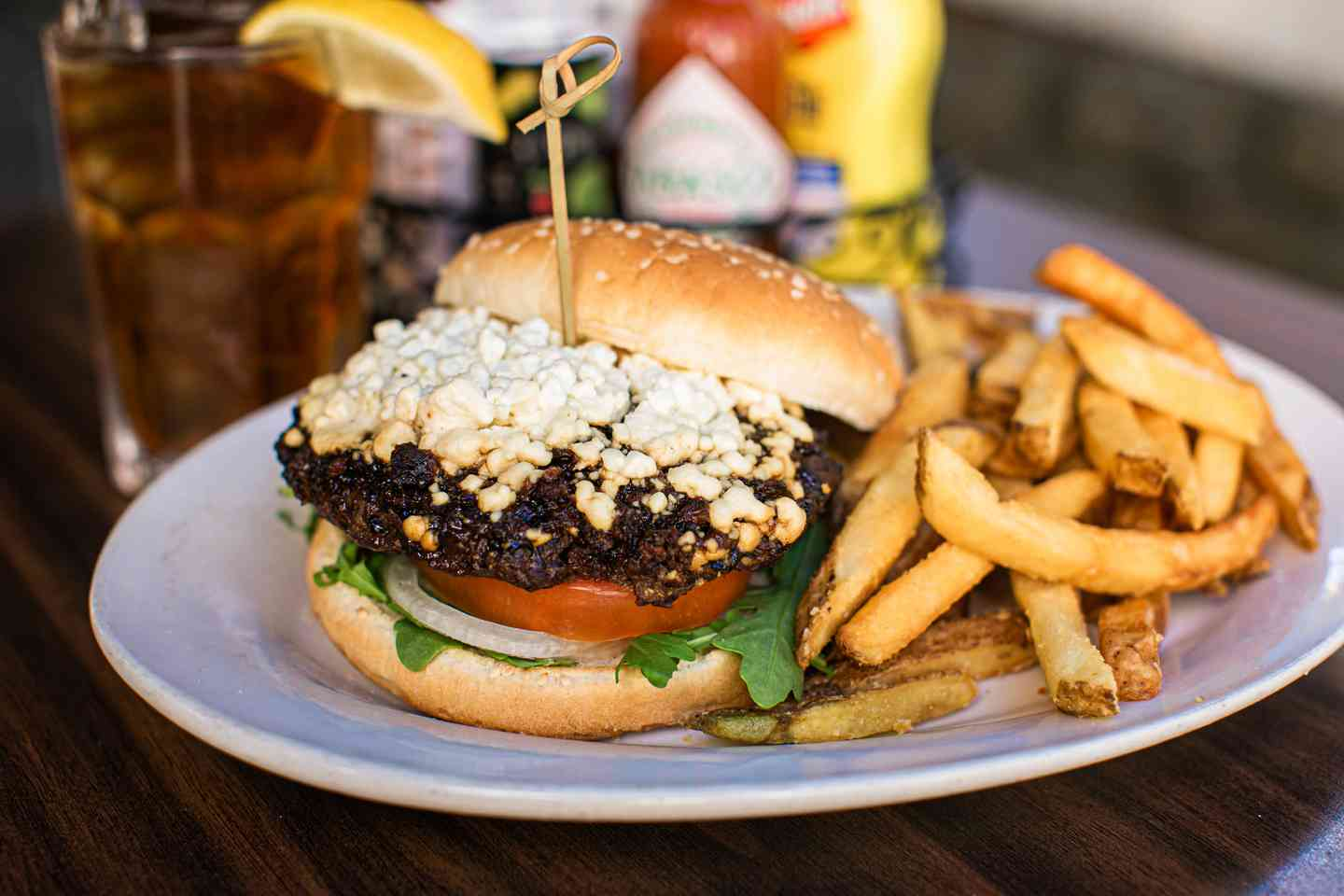Goat Cheese Burger