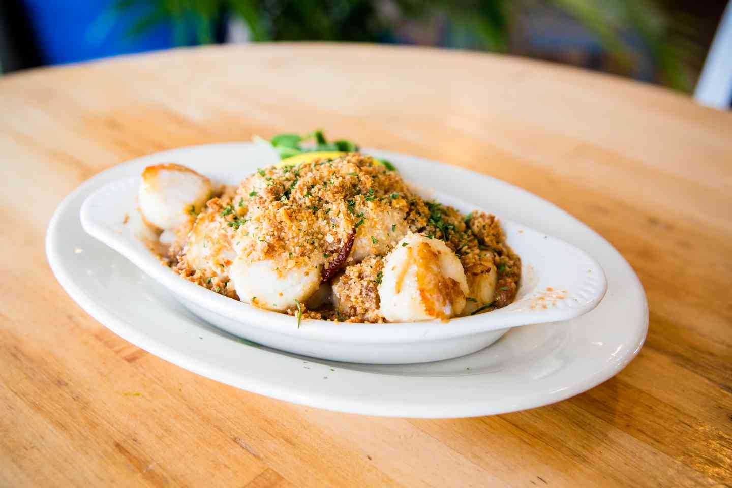 Baked New Bedford Sea Scallops
