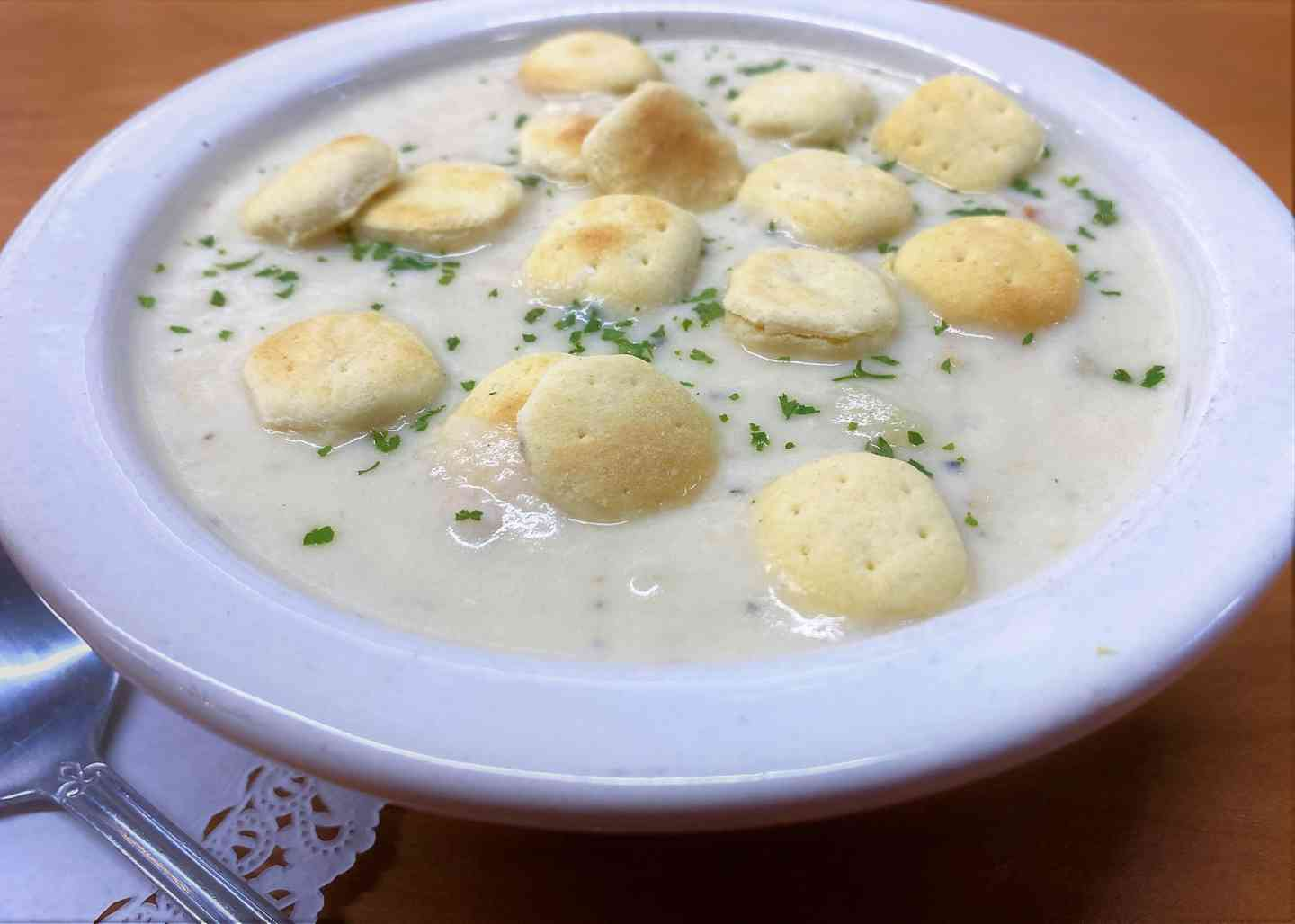 New England or Seafood Chowder Soup
