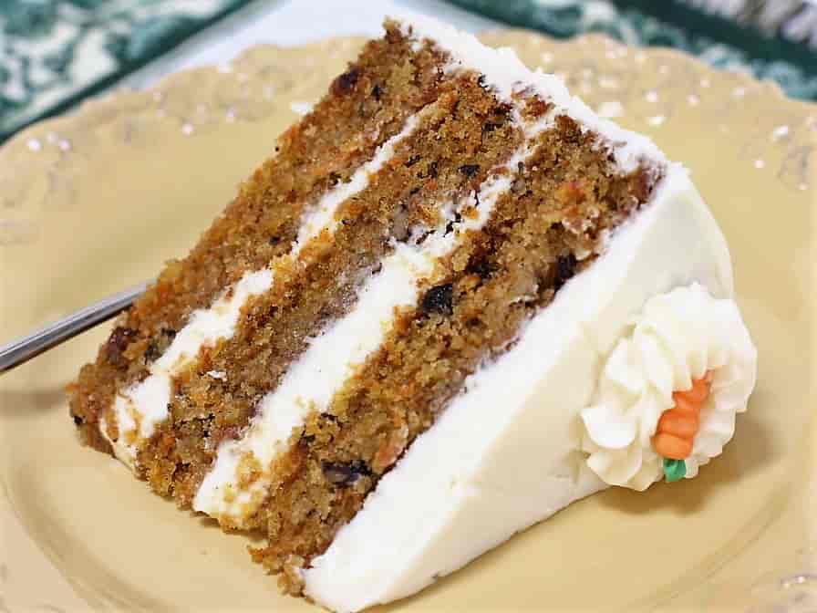 Triple Carrot Cake