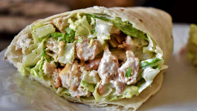 Chicken Caesar Wrap
