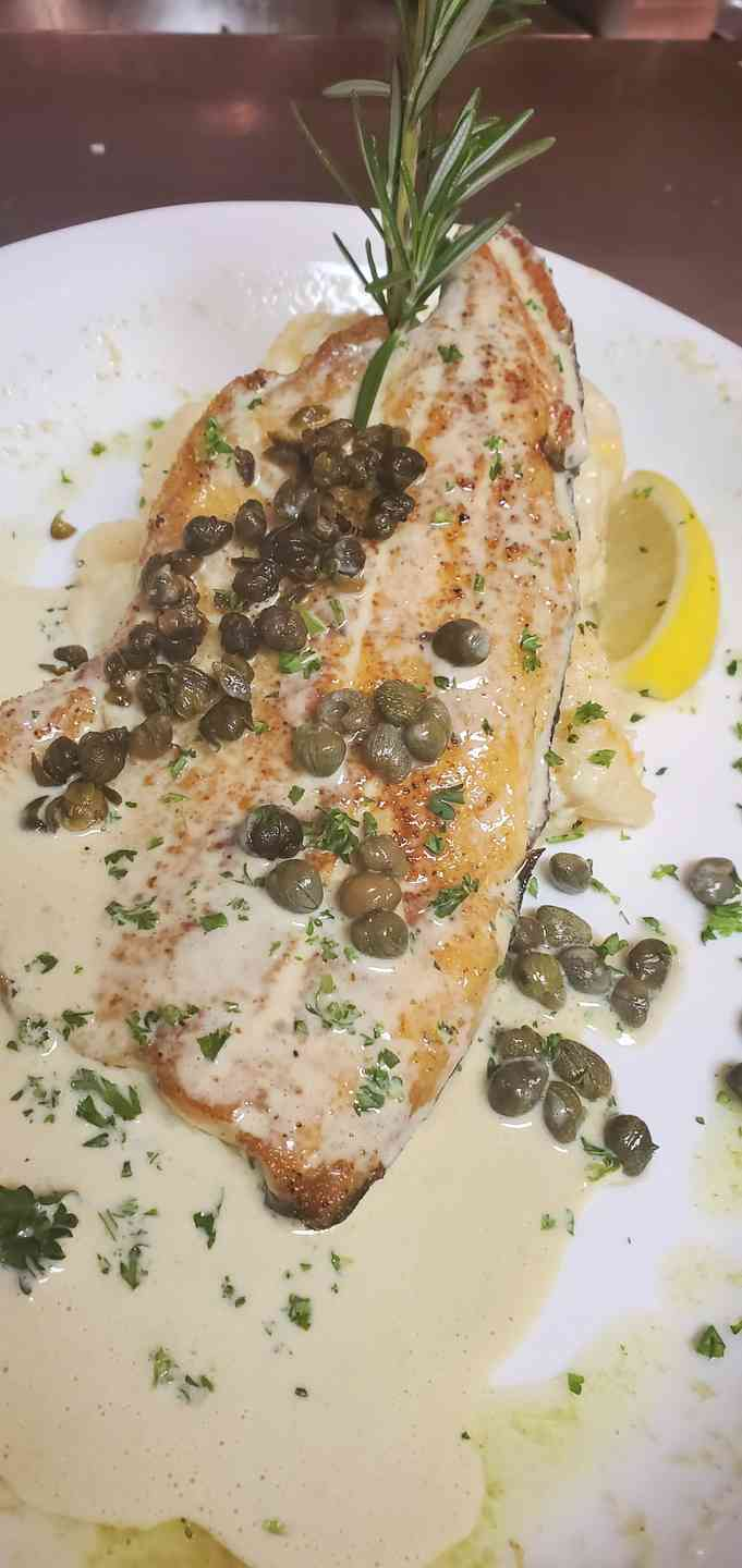 Sauteed Trout