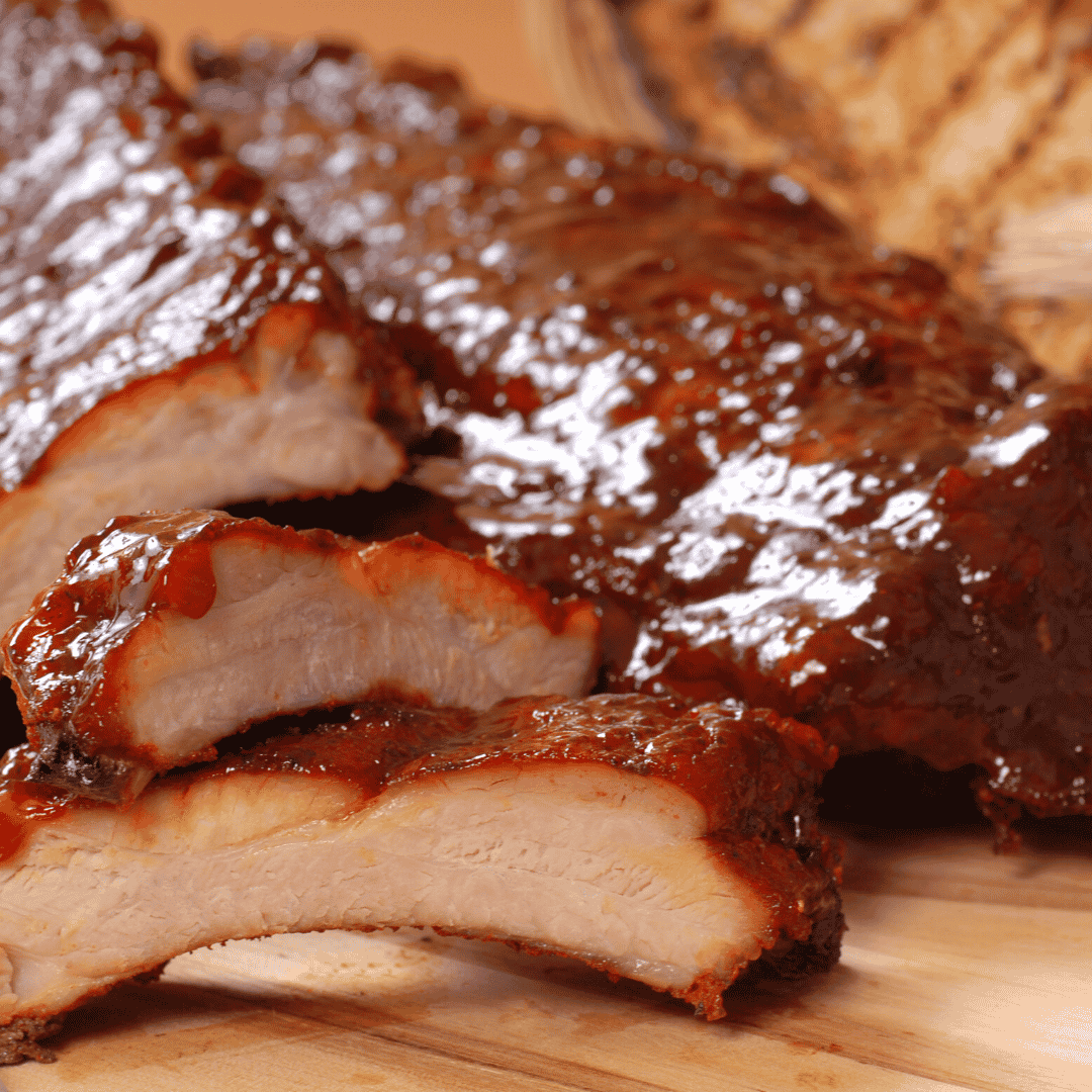 Beer-Braised Baby Back Ribs