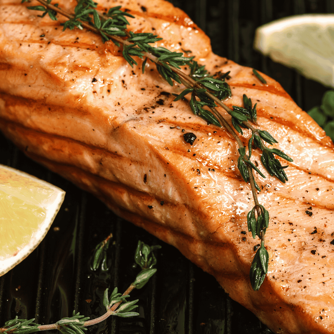 Lemon & Dill Grilled Salmon