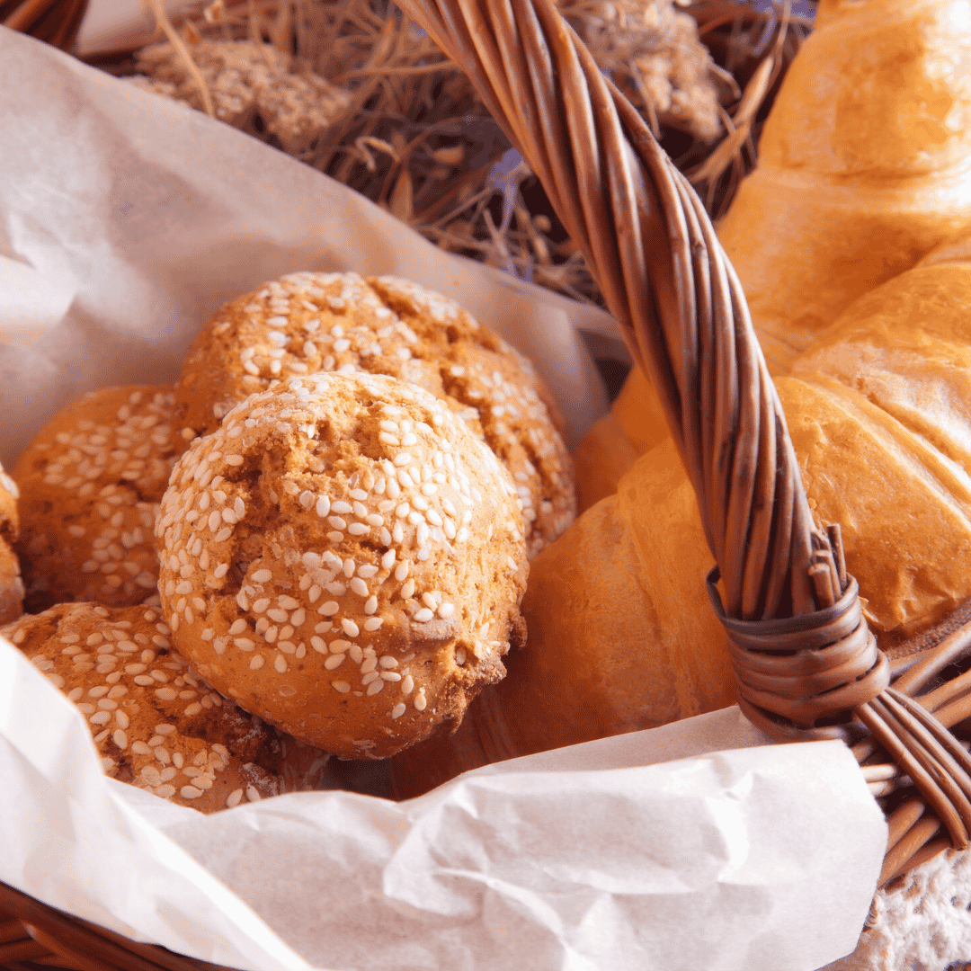 Basket of Pastries