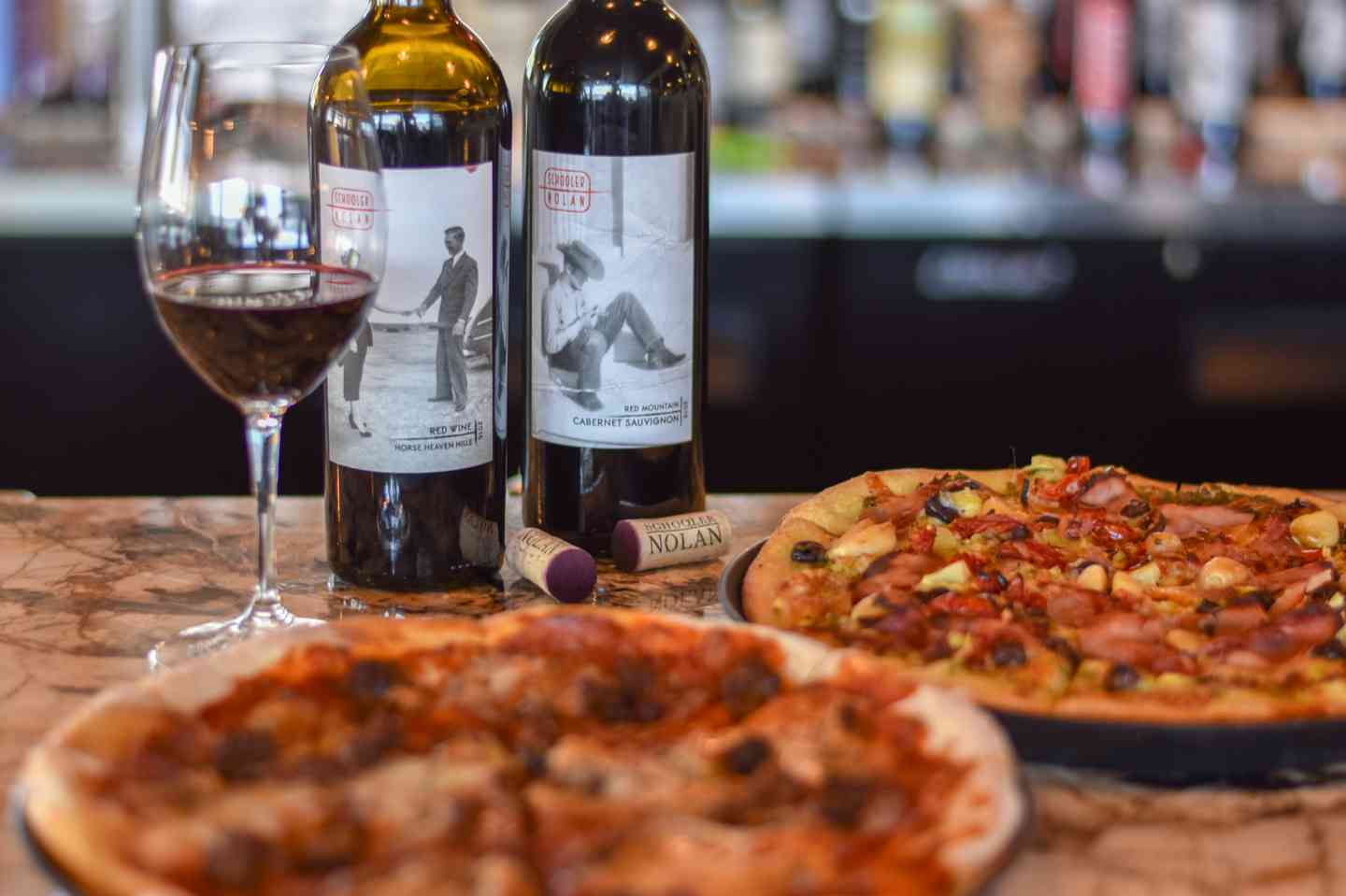 Nolan Wine and Pizza