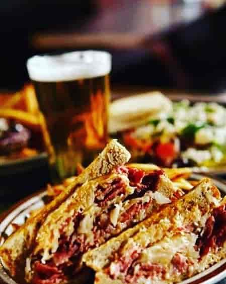 Reuben Sandwich & Side of Potato Salad