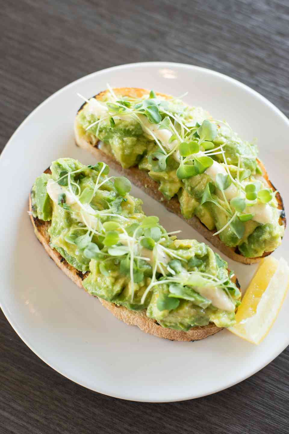 Lemony Avocado Toast