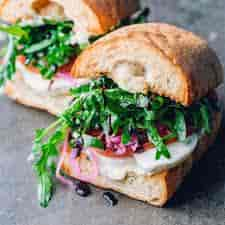 Andie's Tomato Basil Sandwich