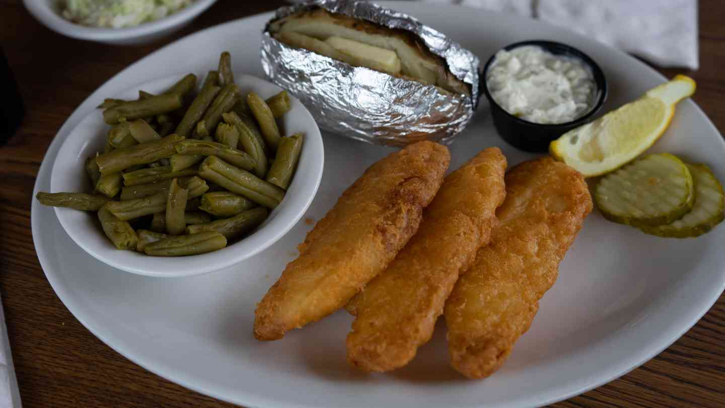 Beer-Battered Whitefish