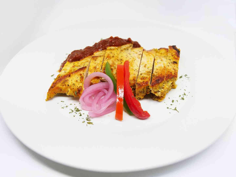 Sofrito stewed chicken