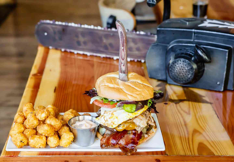 Hungry Logger Burger
