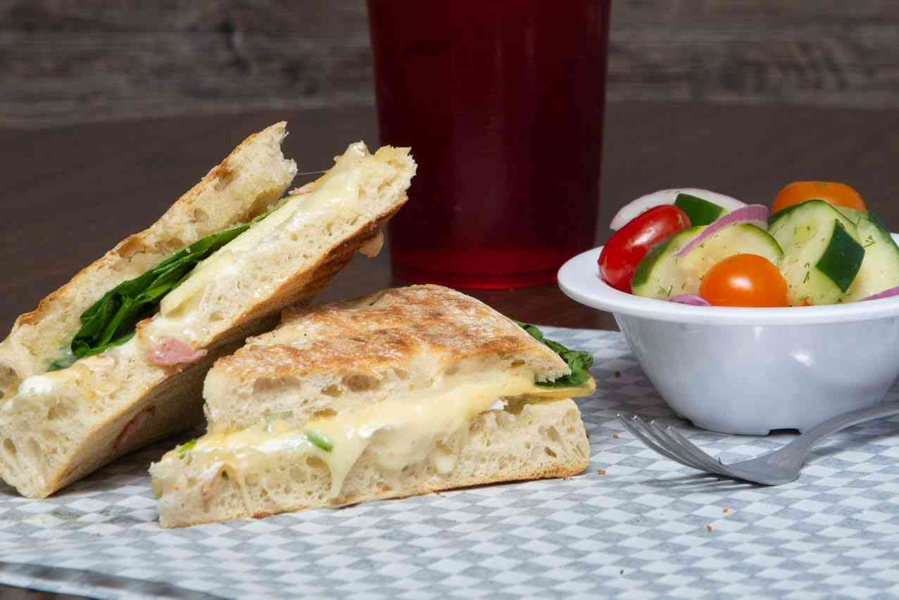 Apple and Brie Panini