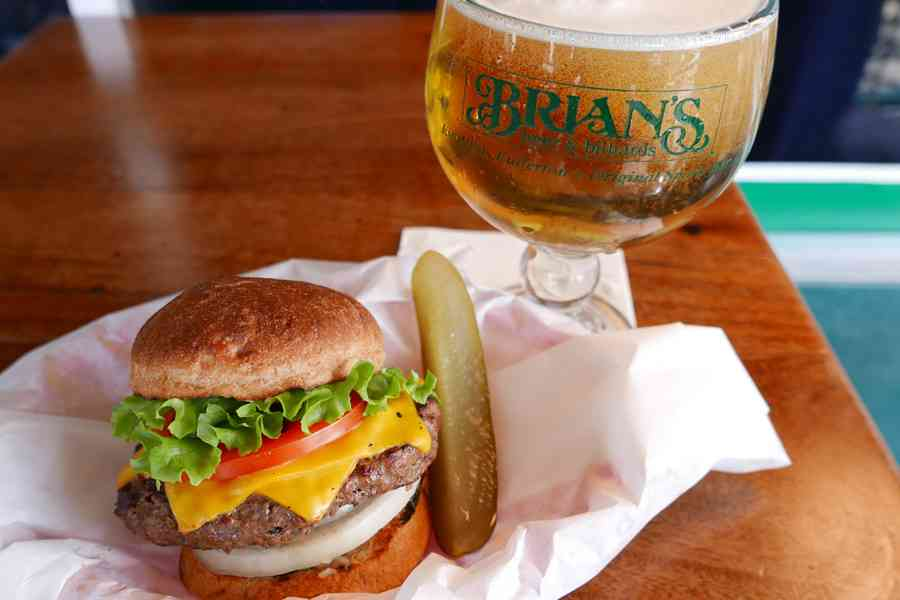 Monday: Burger + Beer