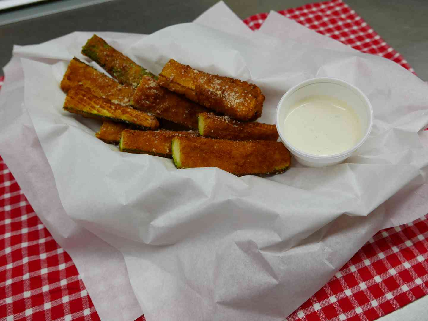 Fresh Fried Zucchini
