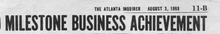 Milestone Business Achievement