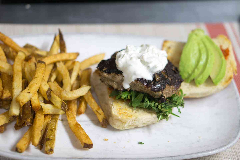 Tzatziki Burger
