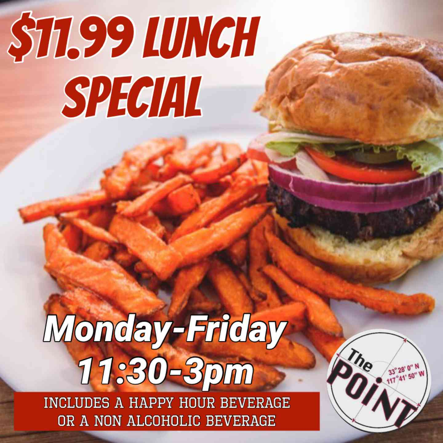 lunch specials $11.99
