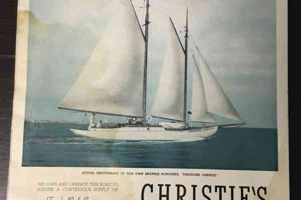 Christie's ad