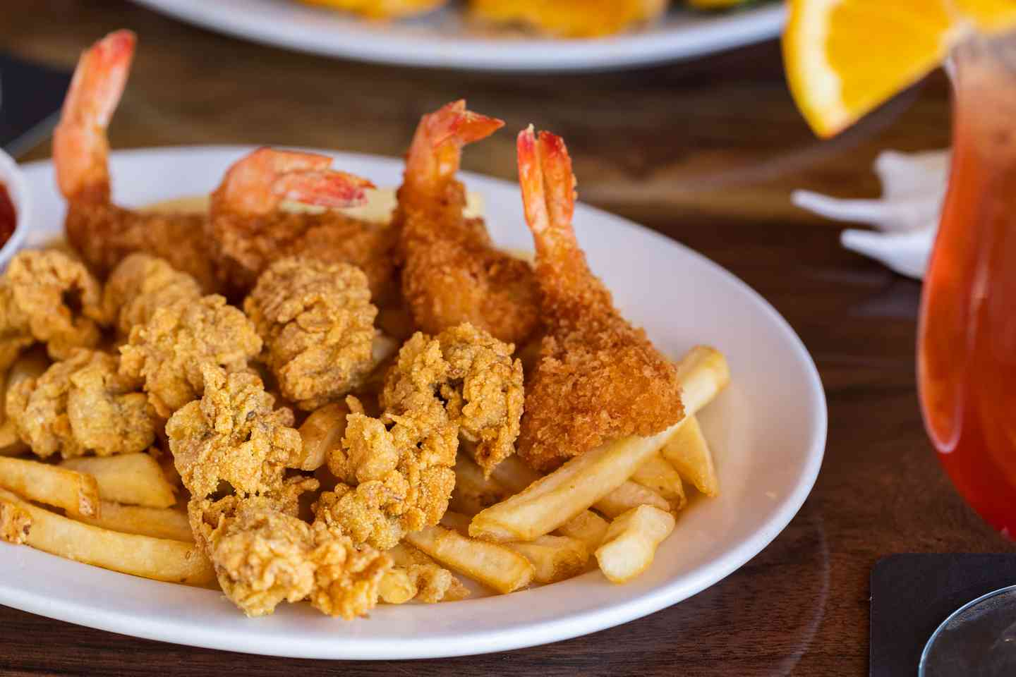 Fried Shrimp & Fried Oysters