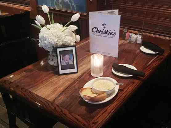 President Bush Sr.'s favorite table at Christie's