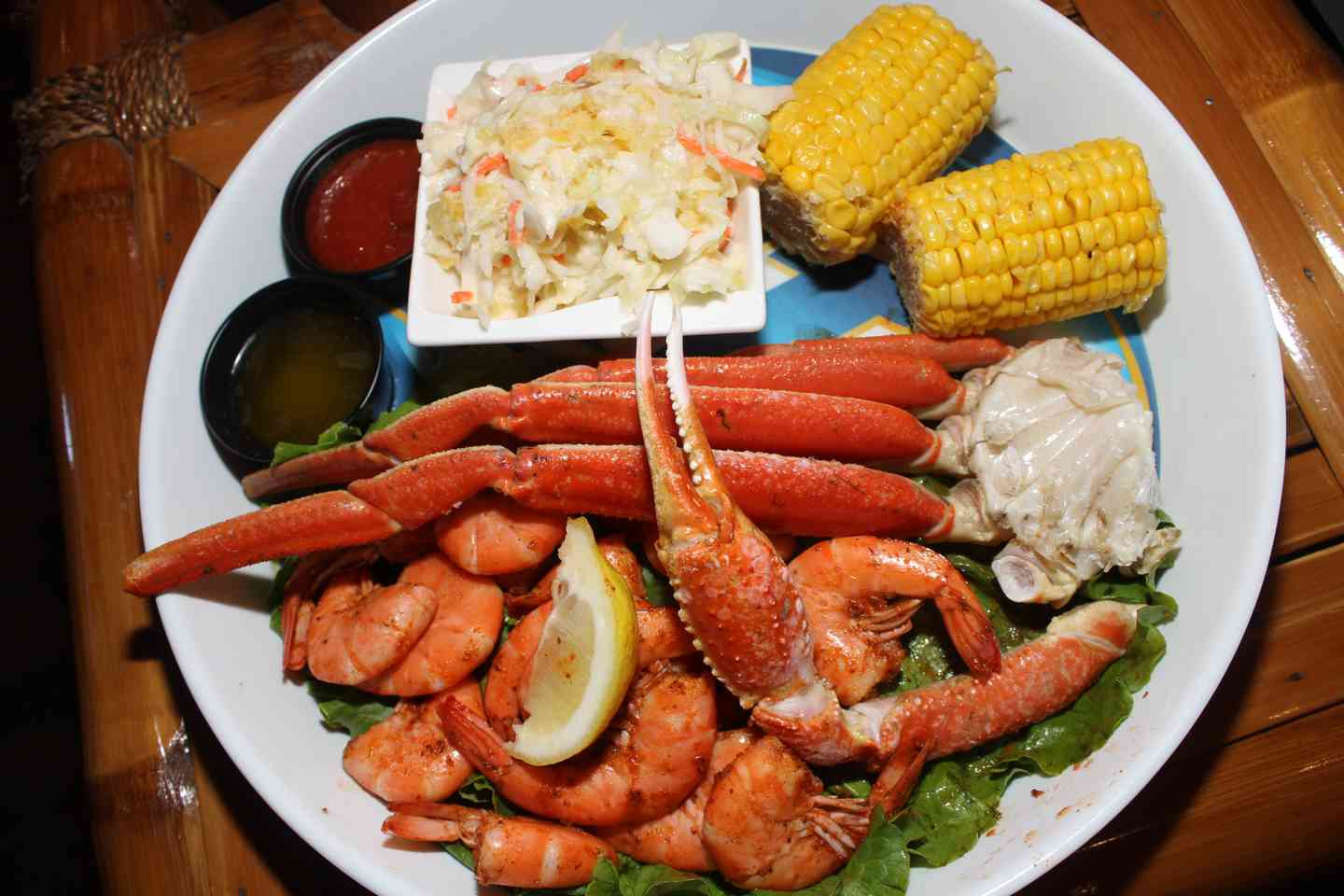 Snow Crab Legs and Peel N Eat Shrimp Combination