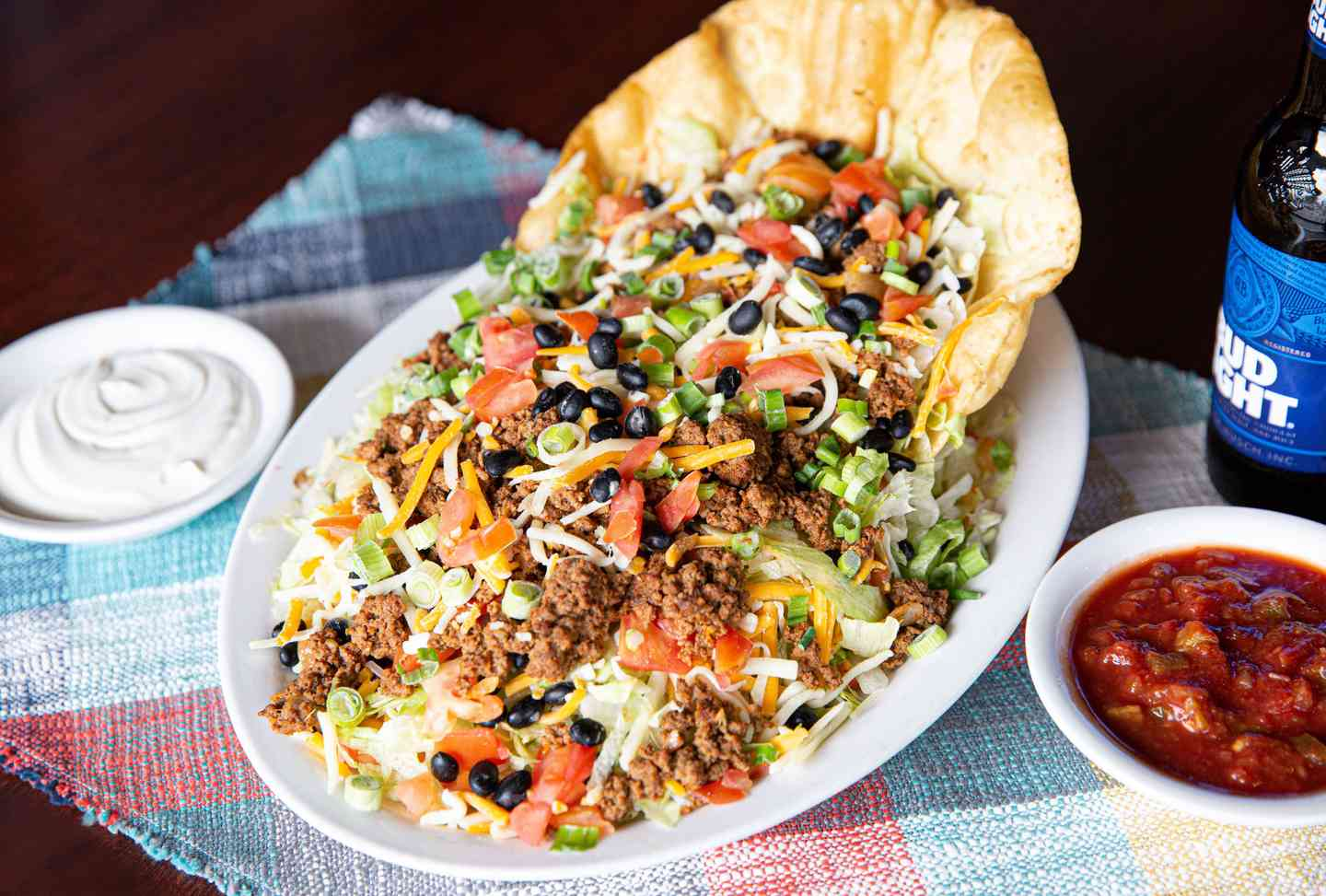 Cancun Lagoon Taco Salad (Beef or Chicken)