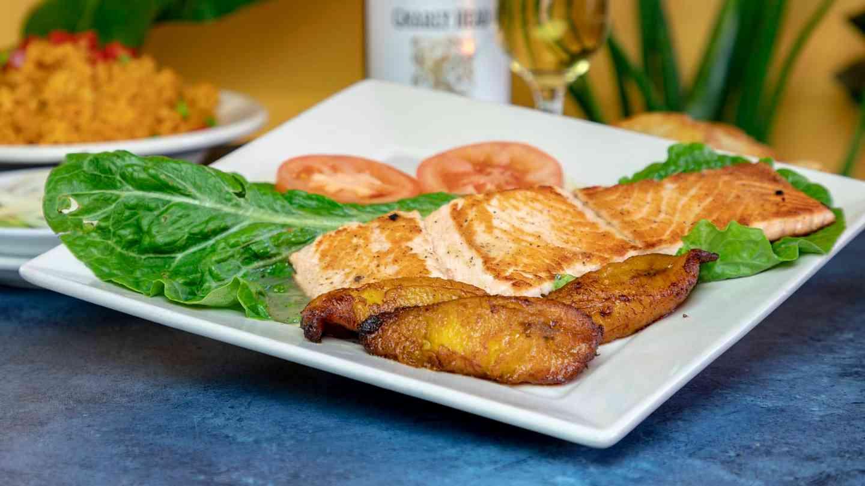 44. Salmon a la Parrilla - Grilled Salmon