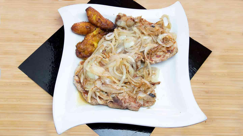 4. Chuletas de Puerco - Grilled Pork Chops