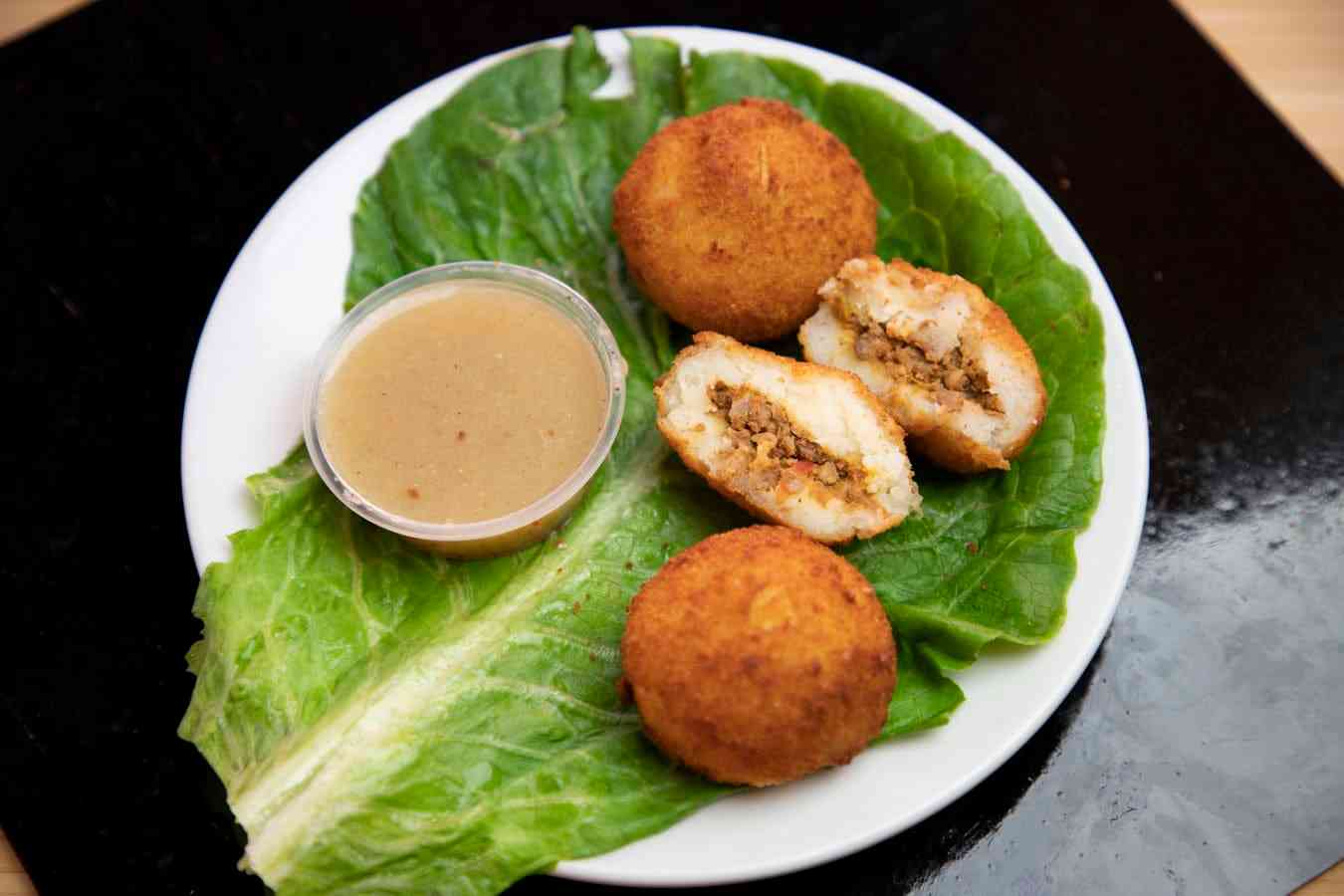 Papa Rellena- Stuffed Cuban Potatoes (3)