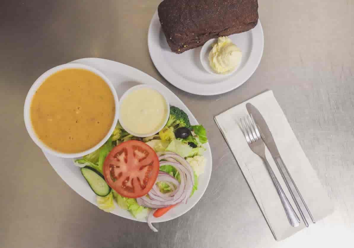 Soup, Salad & Bread Combo