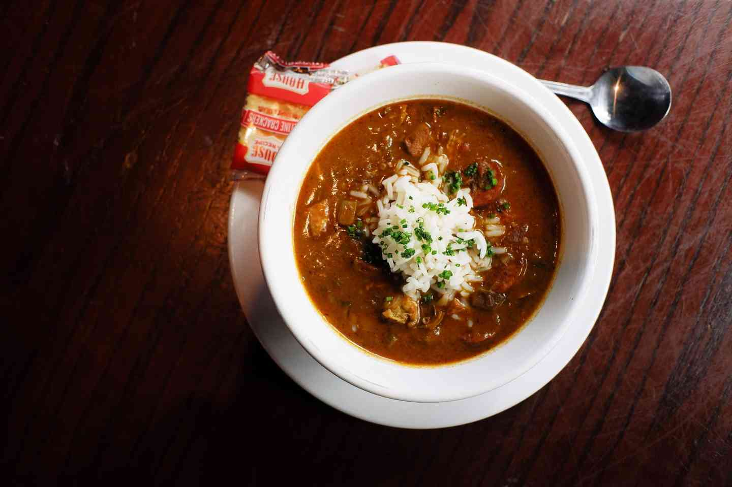 Chicken and Andouille Sausage Gumbo