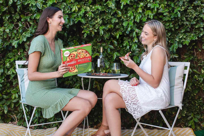 pizza box friend date