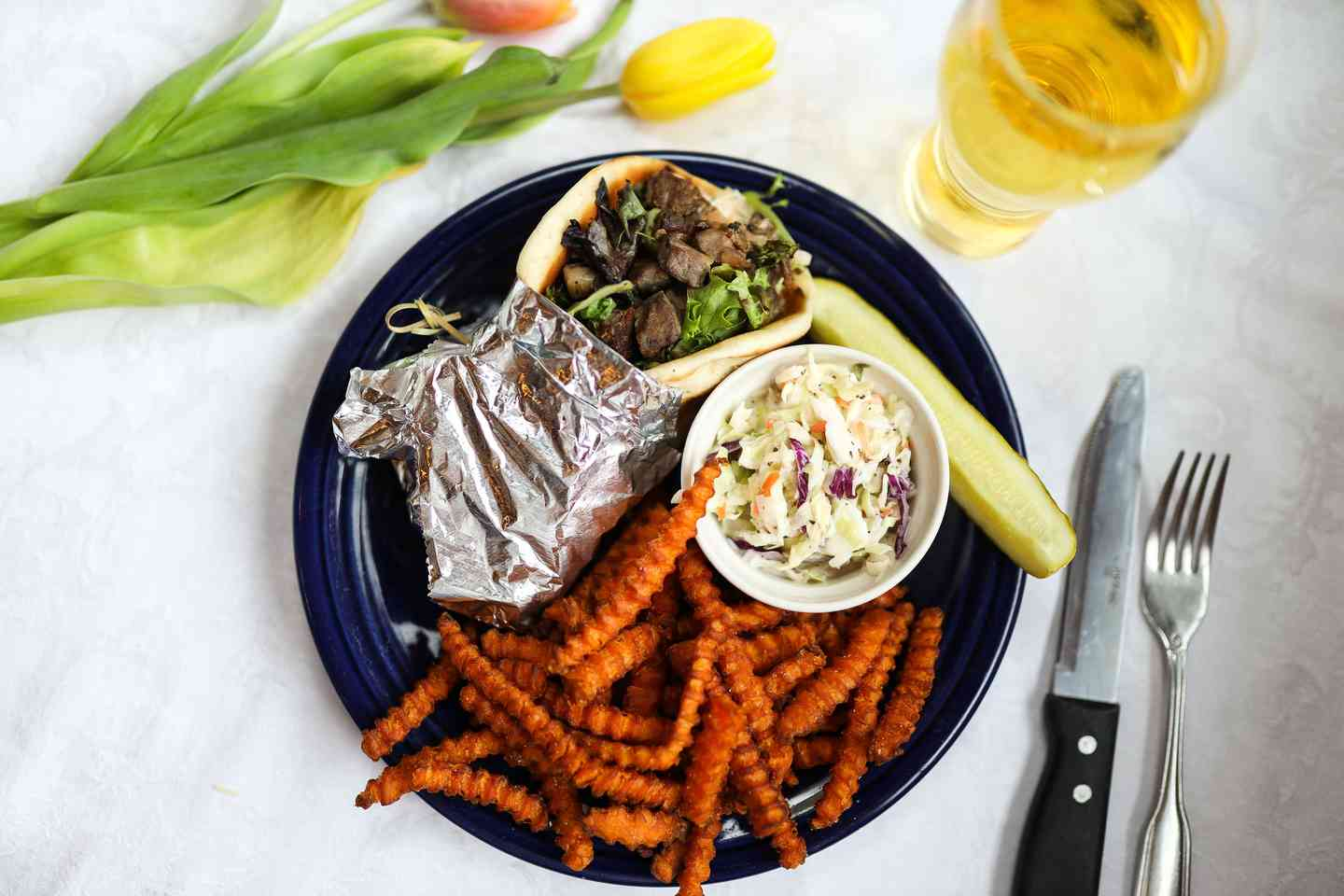 Greek Lamb Gyro