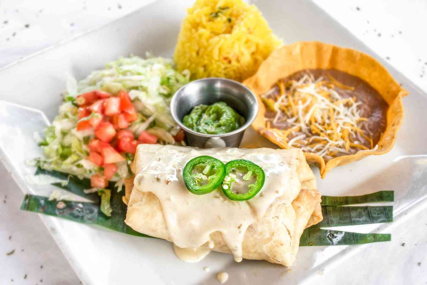 Chimichanga (Chicken or Beef)