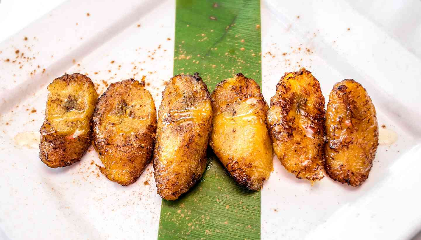 Colombian Fried Plantains