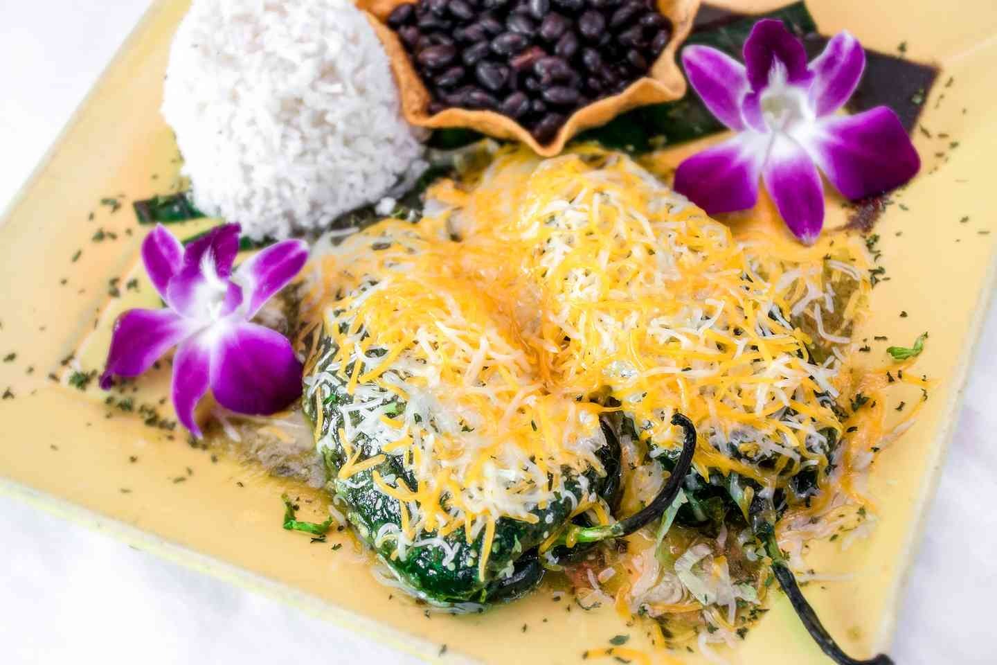 Stuffed Crabmeat Chile Rellenos