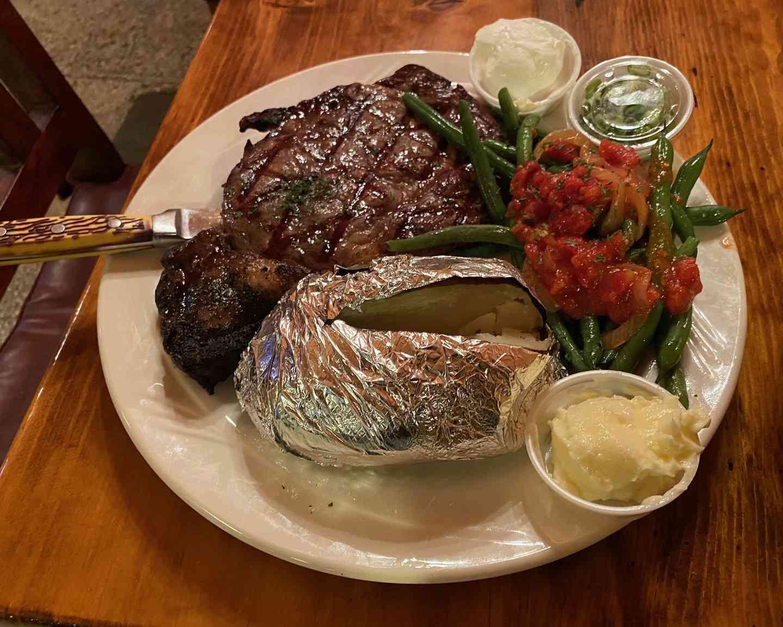 Small Rib Eye Steak