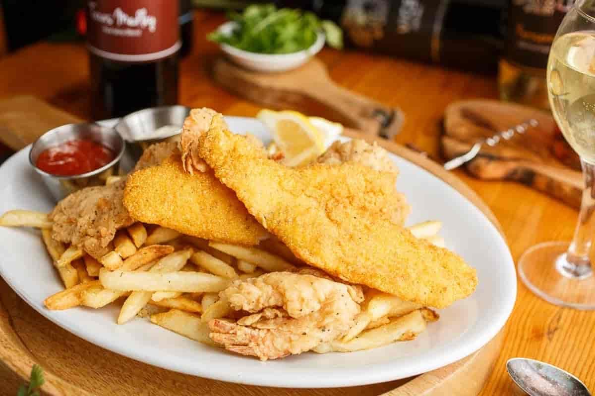 Crispy Catfish or Shrimp
