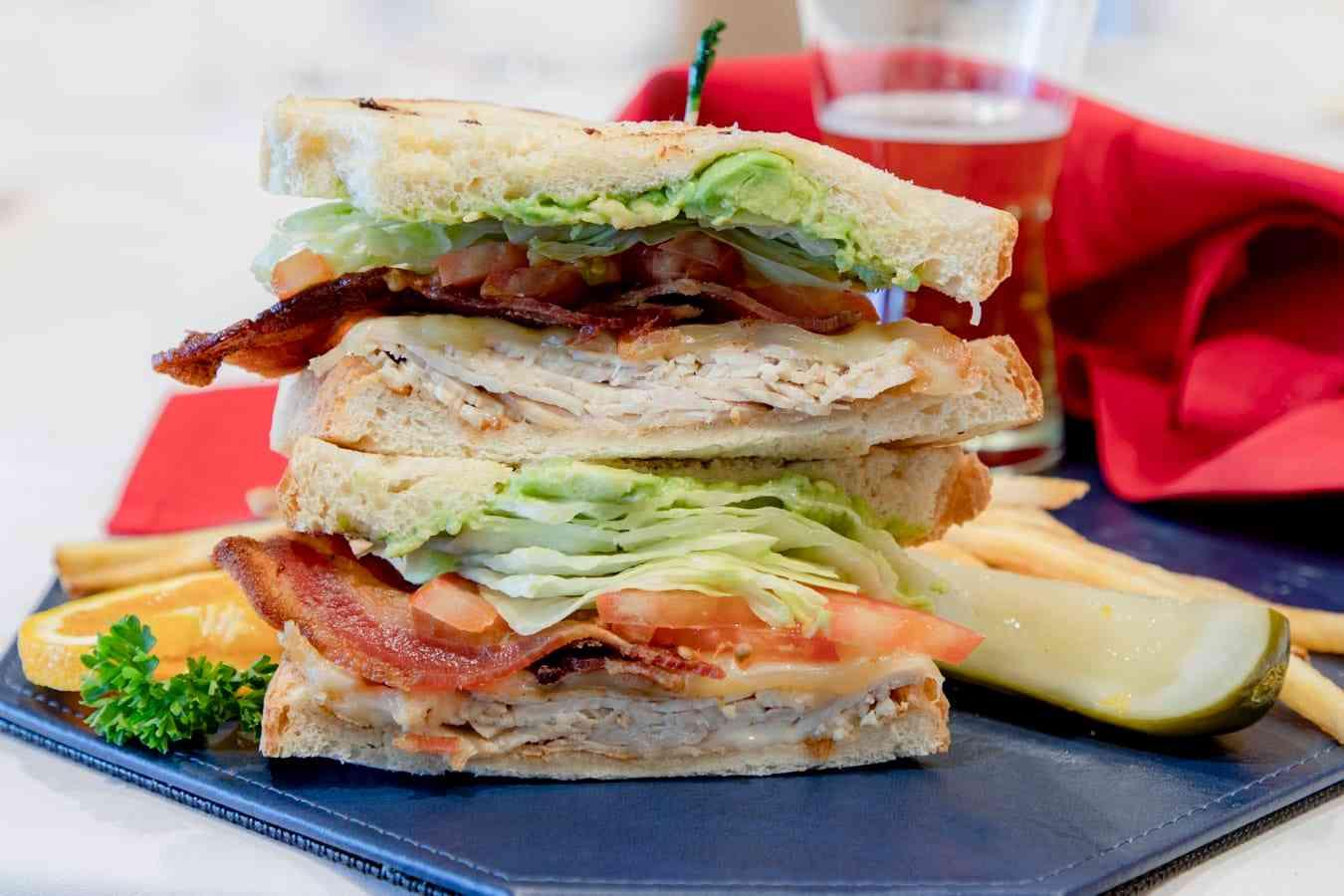 club sanwich