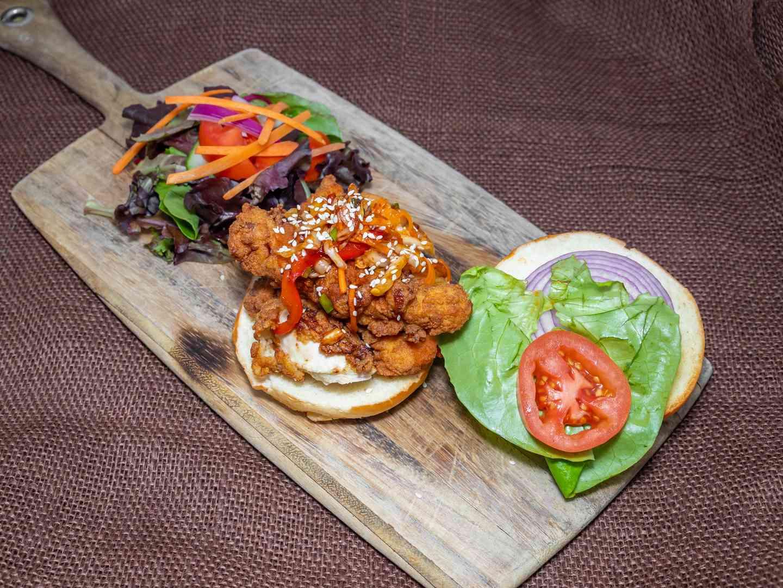 Organic Fried Chicken Sandwich