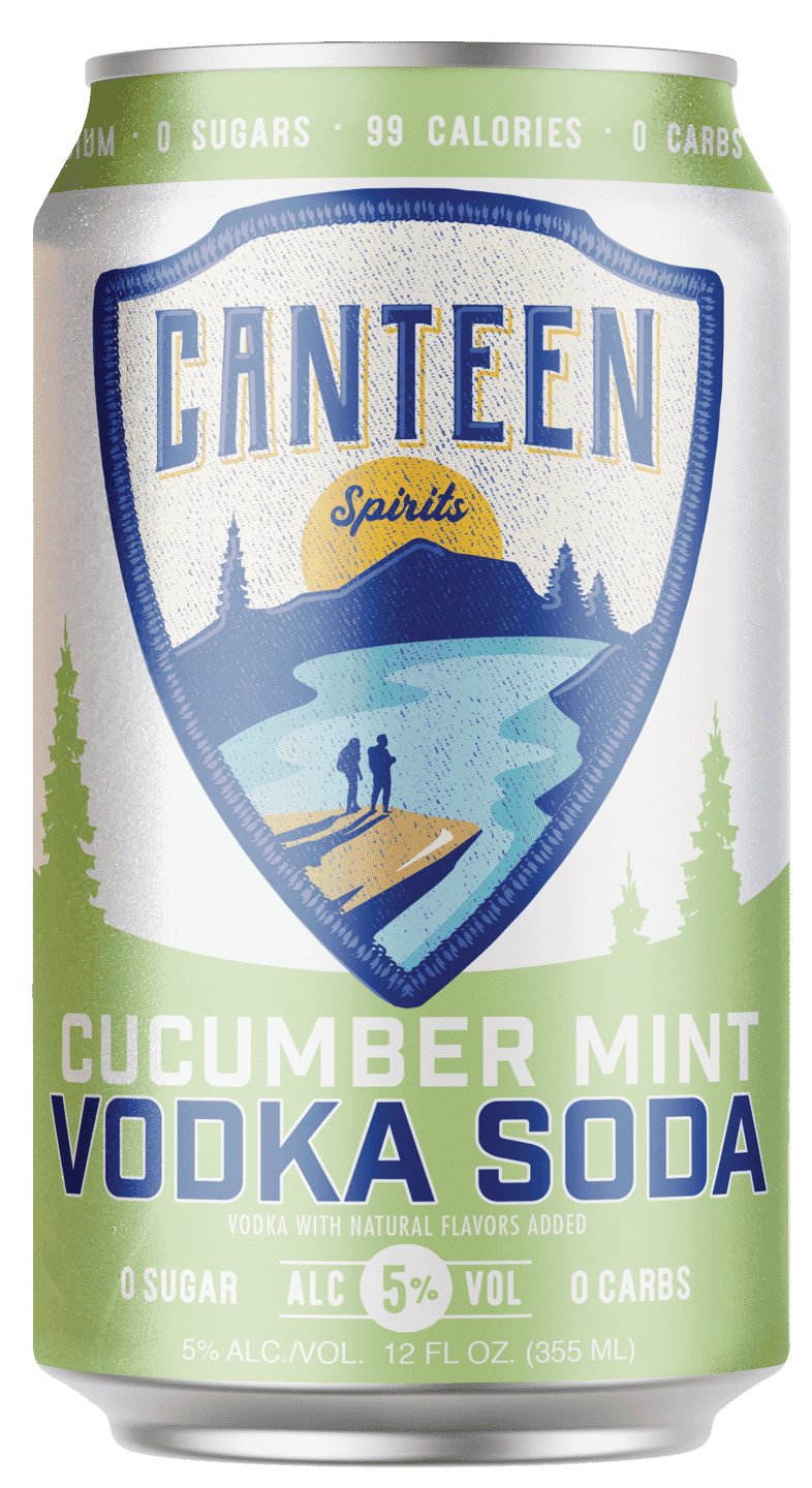 Canteen Spirits - Vodka Soda 6 pack