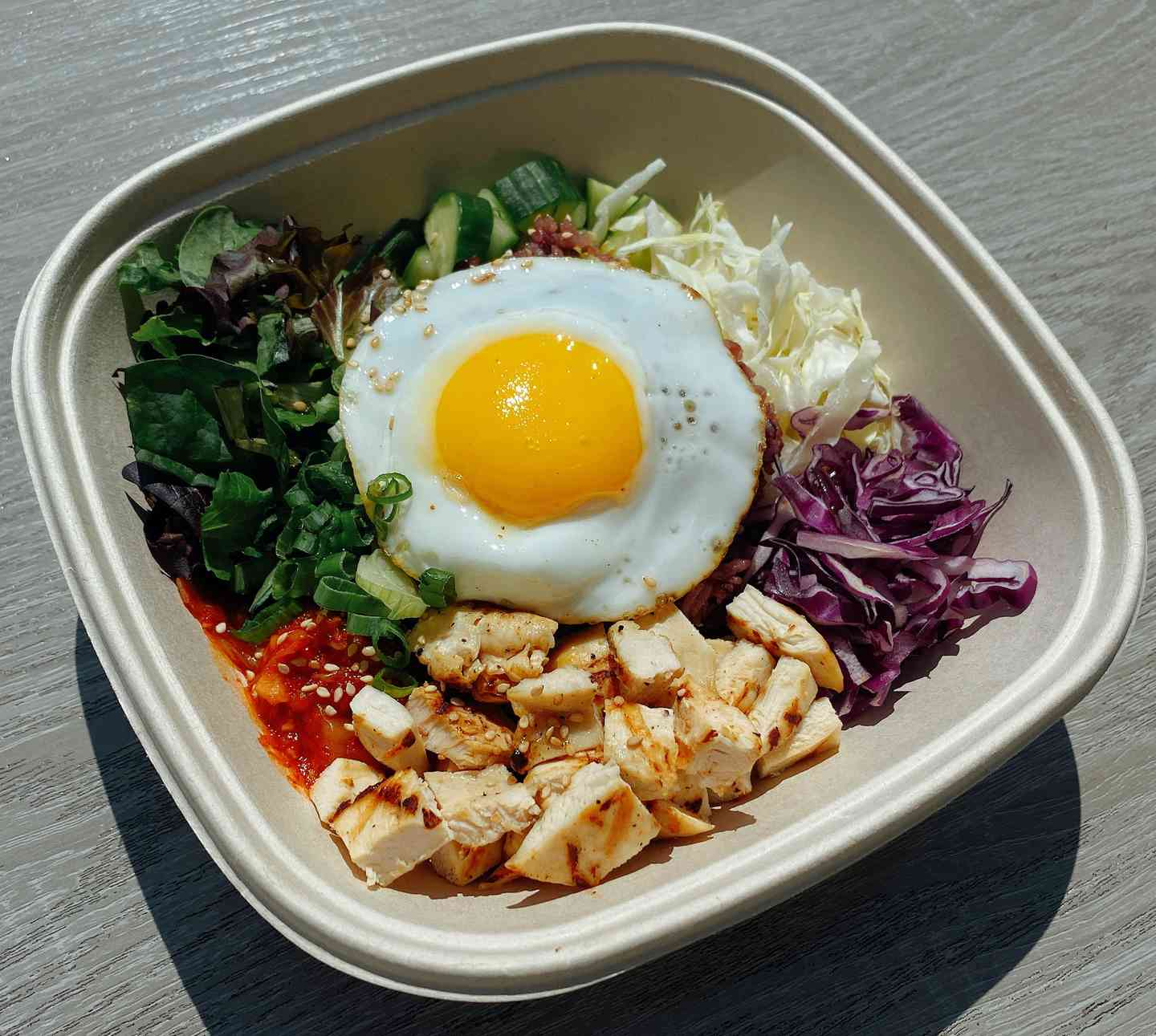 Grilled Chicken Bibimbap