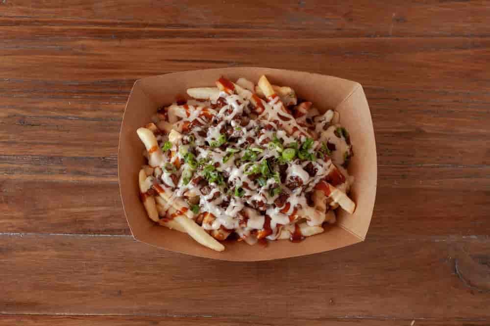 K BBQ Fries