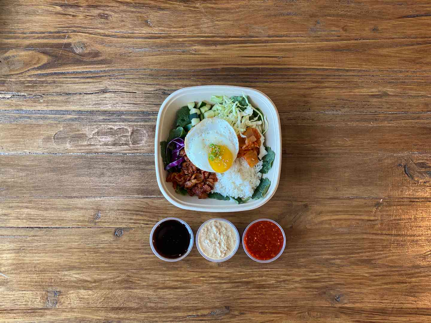 Spicy Pork Bulgogi Bibimbap