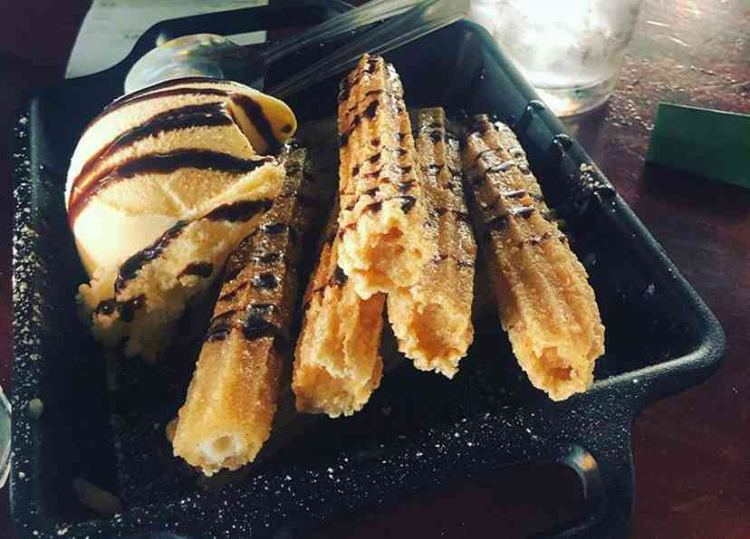 Churros and Ice Cream