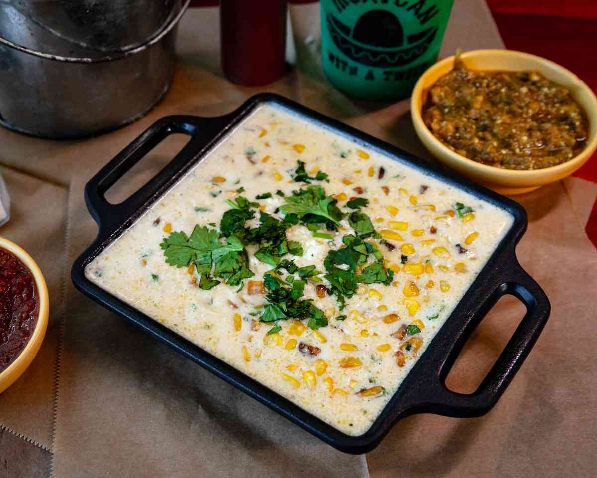Street Corn Queso & Chips