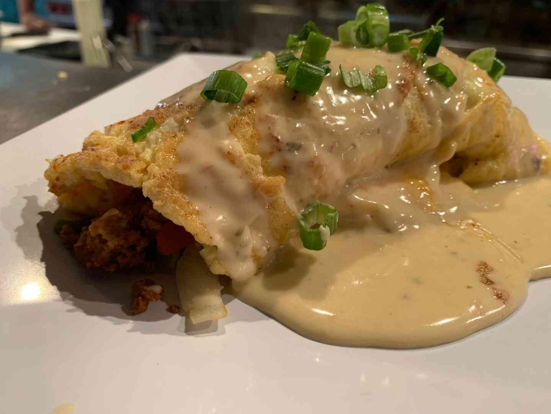 The Alamo Omelette