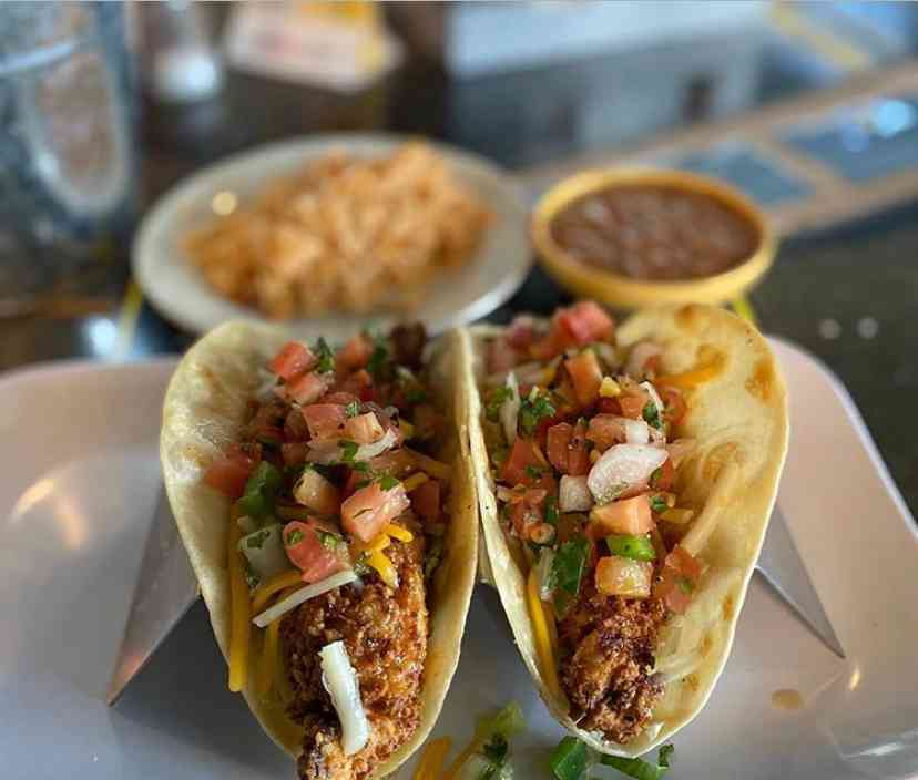 Honey Jalapeno Fried Chicken Tacos